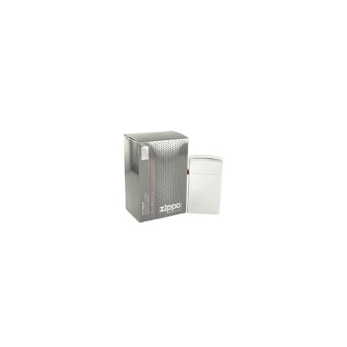 Zippo Silver for Men by Zippo EDT Refillable Spray 3 oz