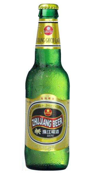 Zhu Jiang Beer Gold Lager Beer 6 X 4 X 330ml
