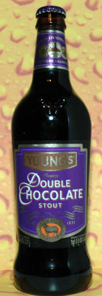 Youngs Double Chocolate Stout 16 X 500ml - Label