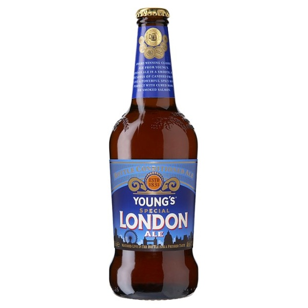 Youngs Special London Ale 16 X 500ml - Label