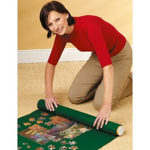 Roll-away Puzzle Mat