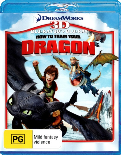How To Train Your Dragon (3D Blu-ray/Blu-ray) (2 Discs)