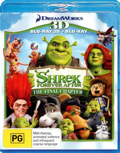 Shrek Forever After (3D Blu-ray/Blu-ray) (2 Discs)