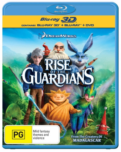 Rise of the Guardians (3D Blu-ray/Blu-ray/DVD) (3 Discs)