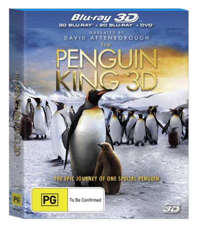 The Penguin King (3D Blu-ray/2D Blu-ray/DVD)