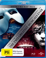 Les Miserables (2010) (25th Anniversary Concert at the O2) / Phantom of the Opera (2011) (25th Anniv