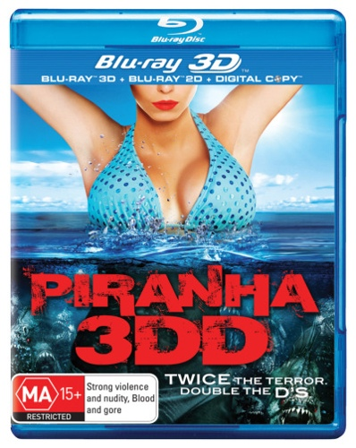 Piranha 3DD (3D Blu-ray/Blu-ray/Digital Copy) (2 Discs)