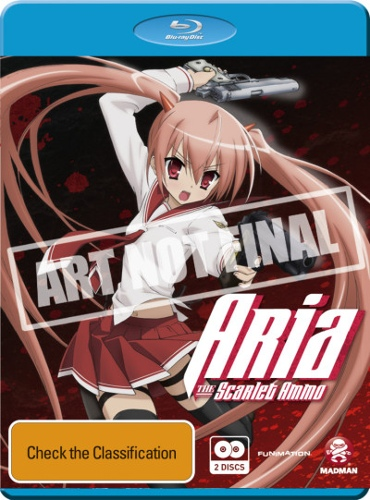 Aria The Scarlet Ammo Collection (2 Discs)