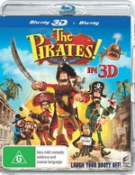The Pirates! Band of Misfits (3D Blu-ray/Blu-ray)