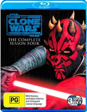 Star Wars: The Clone Wars - Season 4 (3 Discs)