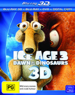 Ice Age 3: Dawn of the Dinosaurs (3D Blu-ray/Blu-ray/DVD/Digital Copy) (4 Discs)