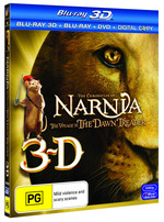 Chronicles Of Narnia: Voyage Of Dawn Treader 3DBD/BD/DVD/DC