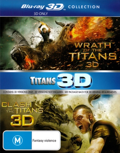 Wrath of the Titans / Clash of the Titans (2010) (3D Blu-ray Double) (2 Discs)