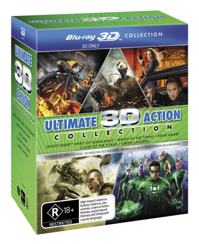 Clash of the Titans (2010) / Drive Angry / Ghost Rider / Green Lantern / Wrath of the Titans (Ultima