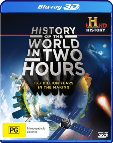 History Of The World In 2 Hours (3D Blu-ray/Blu-ray)