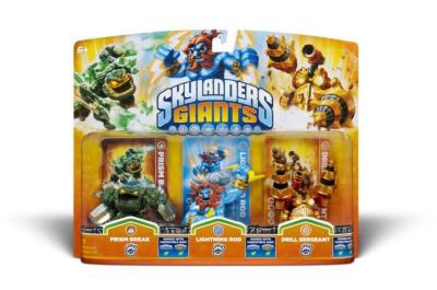 Skylanders Giants Triple Pack 5
