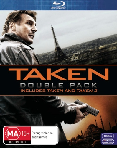 Taken 1 and 2 (2 Discs)