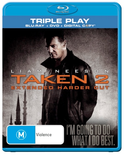 Taken 2 (BLR/DVD/Digital) (2 Discs)