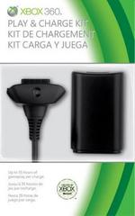 Xbox 360 Play and Charge Kit (Black)