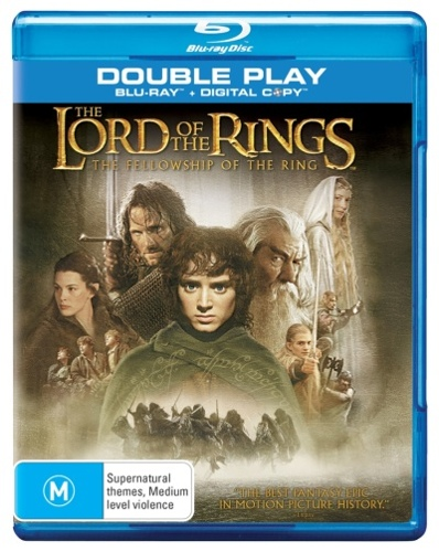 Lord of the Rings: The Fellowship of the Ring (Blu-ray + Digital Copy)