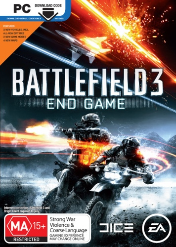 Battlefield 3 End Game (Add On Download Code)