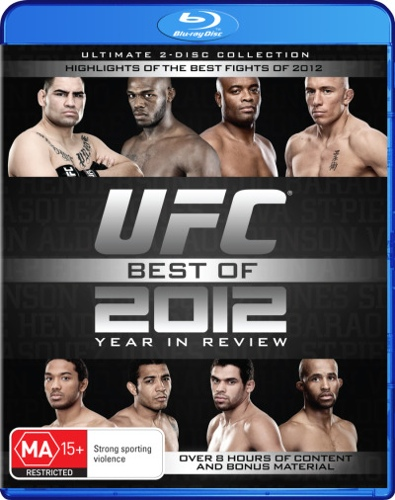 UFC: Best of 2012 Year in Review