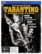 Quentin Tarantino Collection (Death Proof / Inglourious Basterds / Jackie Brown / Kill Bill 1-2 / Pu