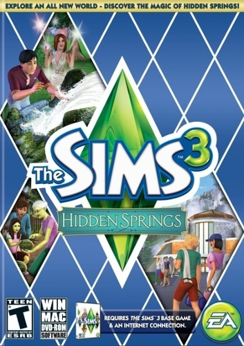 The Sims 3 Hidden Springs (Code in a Box) (Add On)