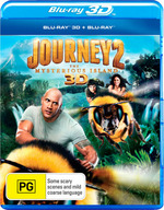 Journey 2: The Mysterious Island (3D Blu-ray/Blu-ray)