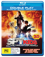 Spy Kids 4 (3D Blu-ray/Blu-ray/Digital Copy)
