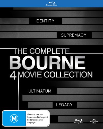 The Bourne Quadrilogy (Contains The Bourne Legacy) (4 Discs)