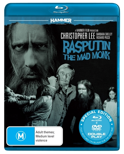 Hammer Horror: Rasputin - The Mad Monk (Blu-ray/DVD) (2 Discs)