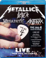 Metallica / Slayer / Megadeth / Anthrax - The Big 4: Live From Sofia Bulgaria
