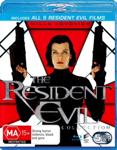 The Resident Evil Collection (Resident Evil / Apocalypse / Extinct / Afterlife / Retribution) (5 Dis
