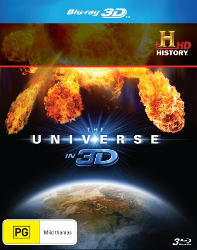 The Universe in 3D (3 Discs)