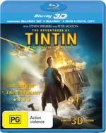 The Adventures of Tintin: The Secret of the Unicorn (2011) (3D Blu-ray/Blu-ray) (2 Discs)