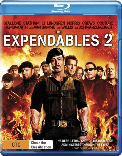The Expendables 2 (Blu-ray/Digital Copy) (2 Discs)