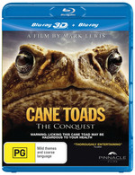 Cane Toads: The Conquest (3D Blu-ray/Blu-ray)