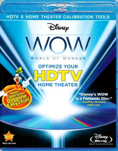 Disney WOW: World of Wonder - Optimize Your Home Theatre HDTV