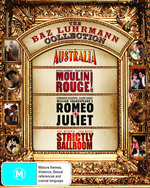 Australia / Moulin Rouge / Romeo and Juliet (1996) / Strictly Ballroom (Baz Luhrmann Collection) (4