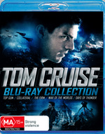 Top Gun / Collateral / The Firm / War of the Worlds / Days of Thunder (Tom Cruise Blu-Ray Collection