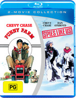Funny Farm / Spies Like Us (Blu-ray Double)
