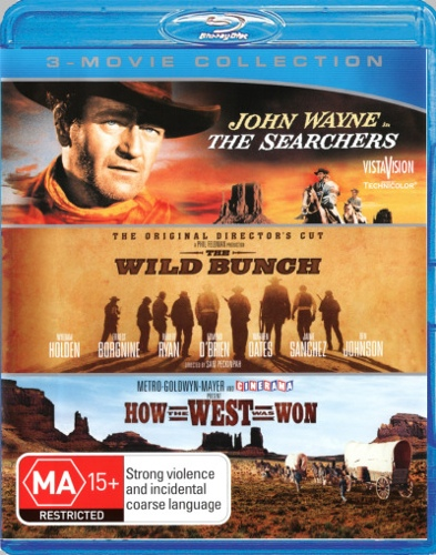 How the West Was Won / The Searchers / The Wild Bunch (Blu-ray Triple) (3 Discs)