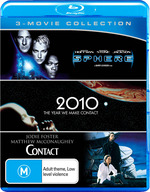 Sphere / 2010: The Year We Made Contact / Contact (Blu-ray Triple)