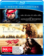 300 / Alexander Revisited / Troy (Blu-ray Triple)
