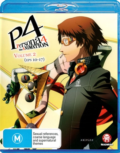 Persona 4: The Animation Vol 2 (Eps 10-17)