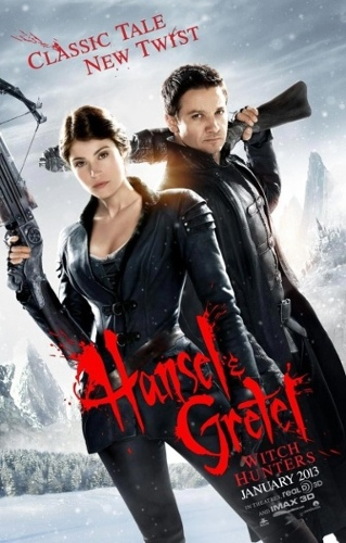 Hansel and Gretel: Witch Hunters (3D Blu-ray/Blu-ray) (2 Discs)