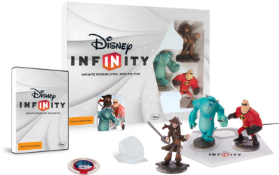 Disney Infinity Starter Box Bundle