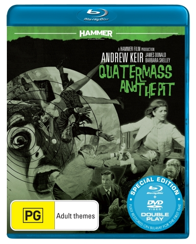 Hammer Horror: Quatermass And The Pit (Blu-ray/DVD) (2 Discs)