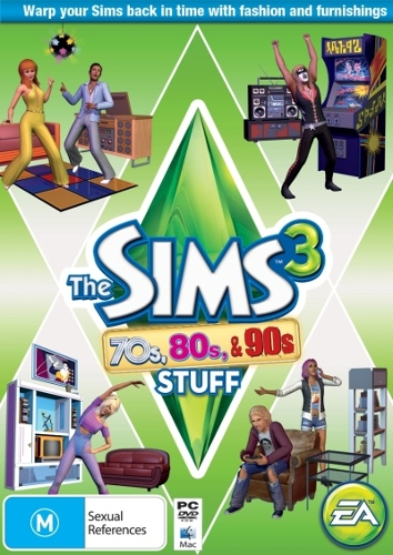 The Sims 3 70s 80s and 90s Stuff (Add On)